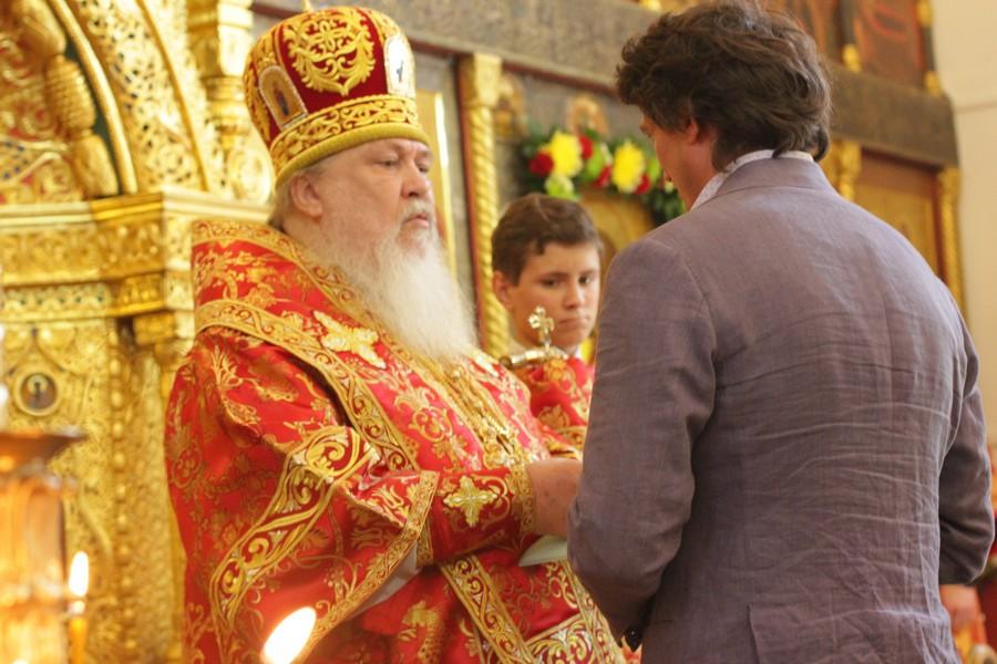 Награждение орденом Преподобного Серафима Саровского